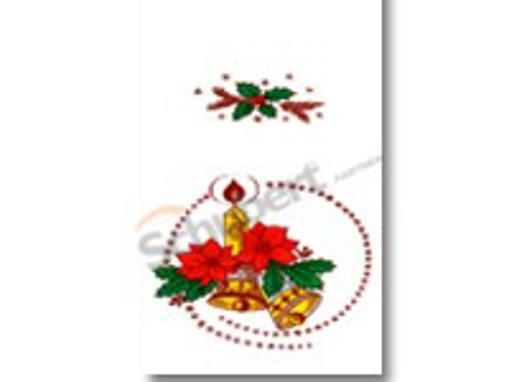 Obrázek z Sáček PP s potiskem - hvězda 20 x 40 cm, 4500 ks