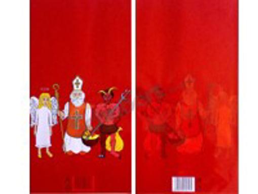 Obrázek z Sáček PP s potiskem - nadílka, červený 20 x 40 cm, 6000 ks