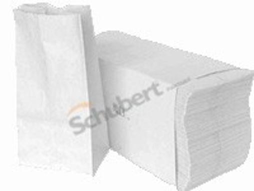 Obrázek z Sáček papírový potravinový - mouka 1 kg bílý 11 x 6 x 27 cm, 80 g/m2, 1000 ks