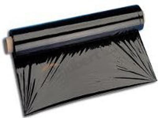 Obrázek z Fólie fixační stretch černá 23 my, 50 cm, 2,1 kg
