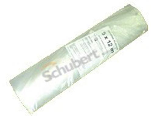 Obrázek z Fólie stavební plachta transparentní 100 my, 5 x 6 m