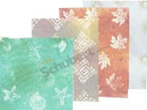Obrázek z Balící papír barevný mix 70 - 80 x 100, 25 g/m2, 10 kg
