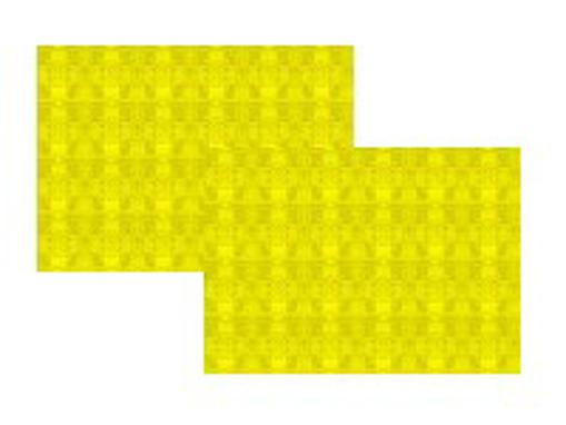 Obrázek z Prostírání papírové žluté 30 x 40 cm, 1000 ks