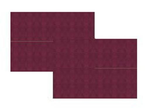 Obrázek z Prostírání papírové bordó 30 x 40 cm, 100 ks