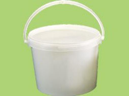 Obrázek z Nádoba plastová PP bílá JET 107 P, 10,3 l, 270 x 263 mm, 1 ks