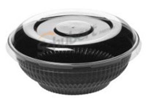 Obrázek z Miska OPS černá kulatá 610 ml, 500 ks