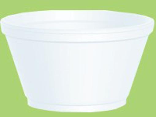 Obrázek z Miska EPS termo bílá 460 ml, 600 ks