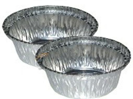 Obrázek z Miska hliníková kulatá ⌀ 8 x 3,4 cm, 2000 ks