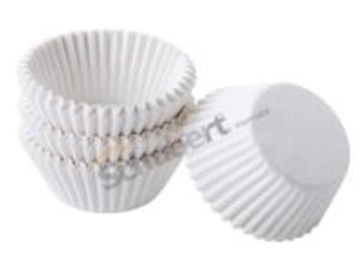 Obrázek z Cukrářský košíček bíly 35 x 20 mm, 1000 ks