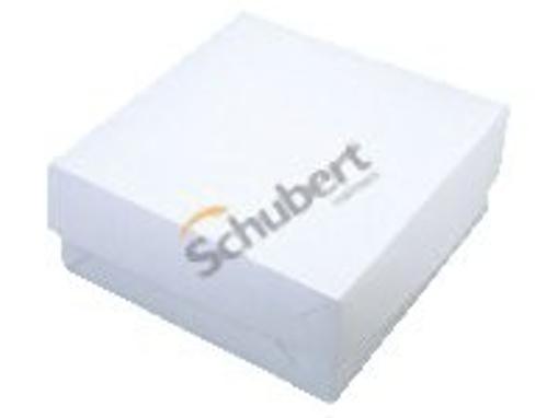 Obrázek z Dortová krabice bílá 22 x 22 x 9 cm, 50 ks