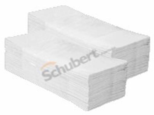 Obrázek z Ručník papírový Z - Z dvouvrstvý bílý 3000 ks