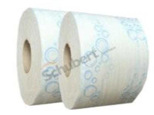 Obrázek z Toaletní papír dvouvrstvý bílý jumbo 18 cm, 12 ks