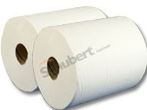 Obrázek z Toaletní papír dvouvrstvý bílý jumbo 24 cm, 180 m, 6 ks