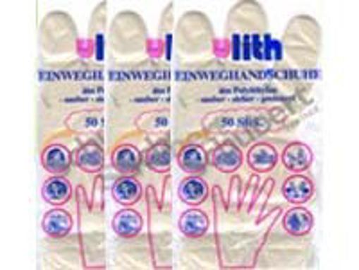 Obrázek z Rukavice jednorázové HDPE odtrhávací, 100 ks