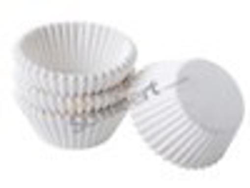 Obrázek z Cukrářský košíček bílý 28 x 16 mm, 1000 ks