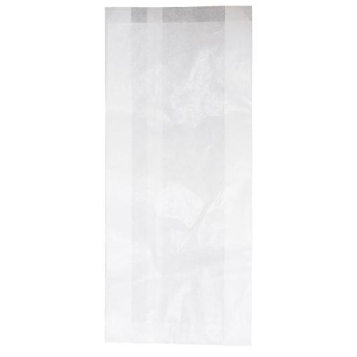 Obrázek z Sáček papírový svačinový bílý 2,5 kg, 16 + 6 x 35 cm, 1000 ks