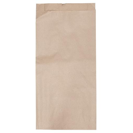 Obrázek z Sáček papírový kupecký hnědý 1 kg, 14 x 4 x 27 cm, 40 g/m2, 2000 ks
