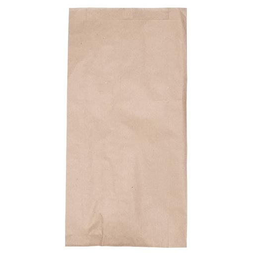 Obrázek z Sáček papírový kupecký hnědý 1,5 kg, 16 x 4 x 31 cm, 40 g/m2, 1500 ks