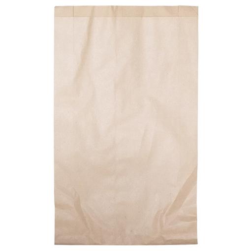 Obrázek z Sáček papírový kupecký hnědý 3 kg, 22 x 6 x 37 cm, 45 g/m2, 500 ks